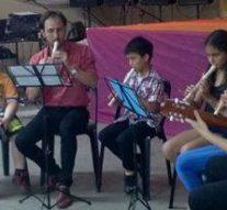 Helvecia: Inició el Coro Polifónico Comunal y clases de Flauta dulce para niños