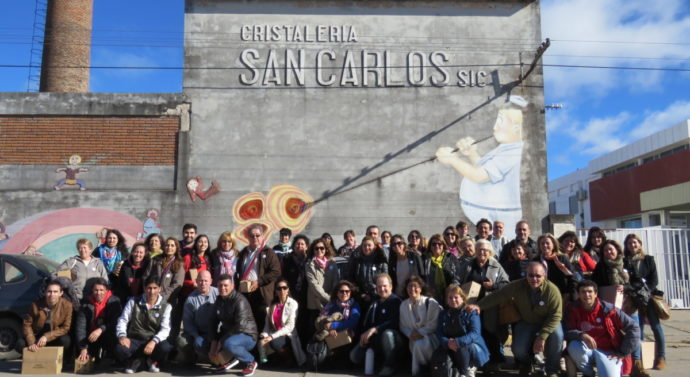 """El """"III Encuentro de Referentes Culturales Santafesinos"""" pasó por el centro de la provincia"""