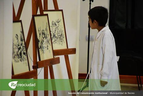 En la ciudad de Recreo continúa la Muestra de Juan Arancio