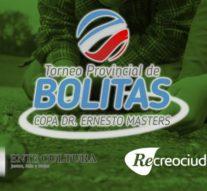 """Recreo: Mañana se juega el """"Torneo de Bolitas""""- Copa Dr. Ernesto Masters"""