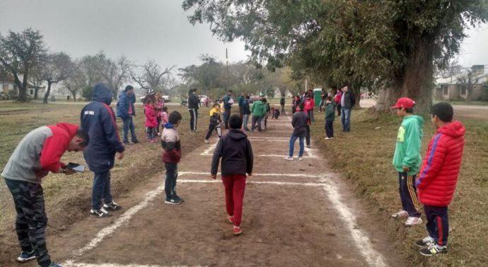 "En Recreo se jugó la instancia local del ""Torneo Provincial de Bolitas"""