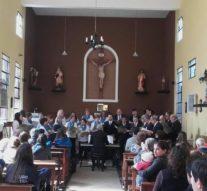 El Coro Polifónico de Gálvez cerró su gira por la costa santafesina en Helvecia