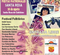 """Imponentes """"Festejos Patronales"""" en Santa Rosa de Calchines"""