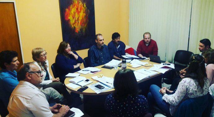 Reunión del Equipo Directivo del Ente Cultural en la ciudad de Santa Fe