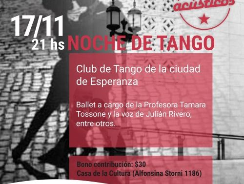 Noche de Tango en Recreo