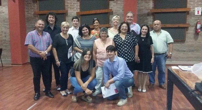 En Gálvez se reunió las comunidades pertenecientes a la Usina IV del Ente Cultural