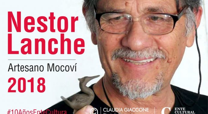 En Coronda inicia su gira provincial la Muestra de Artesania Mocoví de Néstor Lanche