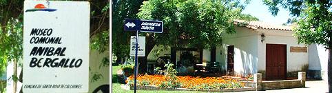 Santa Rosa de Calchines: Refacciones en el Museo Aníbal Bergallo