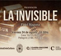 """El libro """"La Invisible"""" ganador del Concurso """"De Pedroni a Pavese"""" se presentará en Rosario"""