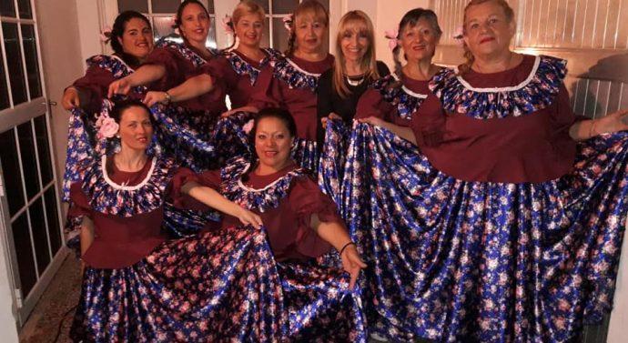 El Grupo «A la Voz de Aura» de Larrechea participó en Coronda