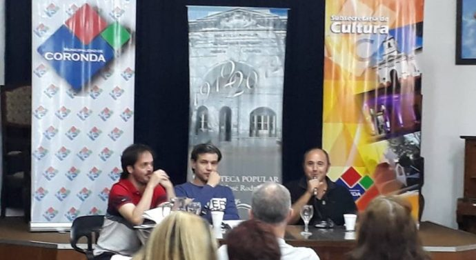 Los «Francotrinadores Santafesinos» presentes en el 24° Encuentro de Escritores de Coronda