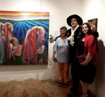 Apertura de la Muestra «Campos de Frutilla» de Lucero Villalba