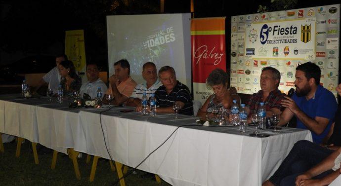 """Presentaron oficialmente la """"5ta Fiesta Departamental de las Colectividades"""""""