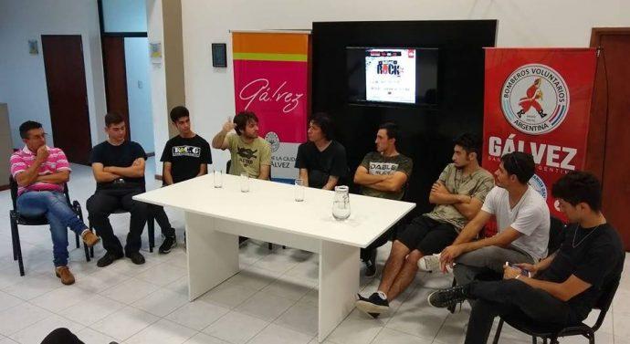 Presentaron el «Gálvez Rock 2019».