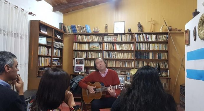 Cayastá: Se presentó «Los Ariscos» en Estación Cultura