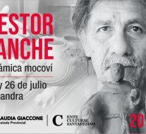 El Artesano mocoví Néstor Lanche llega a Alejandra