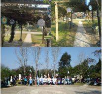 Las «Mandalas patrias» embellecieron a la localidad de Arroyo Leyes