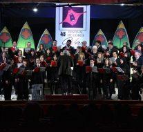 Gálvez vivió el 48° Festival de Coros