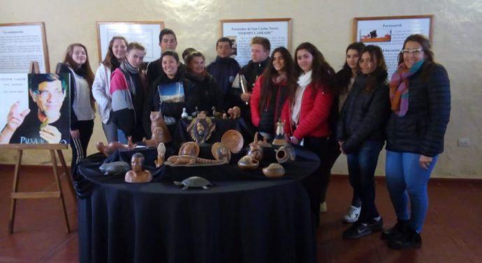 San Carlos Norte recibió la Muestra «Arte Aborígen» de Nestor Lanche