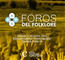 Este sábado llega el primer «Foro del Folklore» a Punta Cayastá