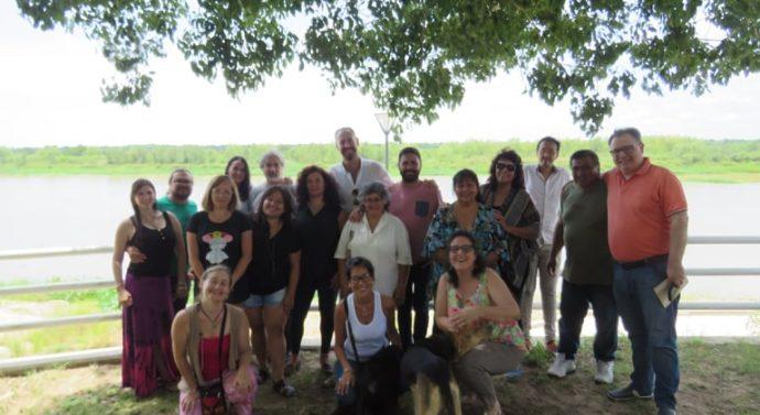 En Punta Cayastá se lanzó el primer «Foro del Folklore»