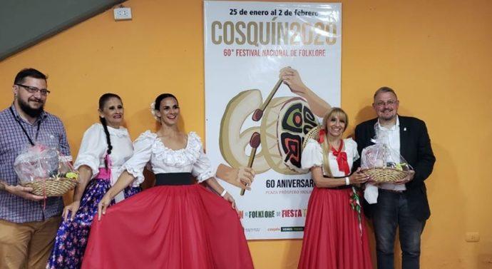El «Patio del Festival» tuvo presencia corondina
