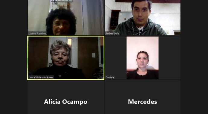 Nueva reunión virtual de la Usina IV de la Costa