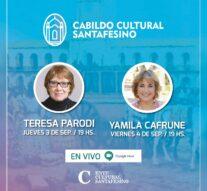 Teresa Parodi y Yamila Cafrune formarán parte del Cabildo Cultural Santafesino