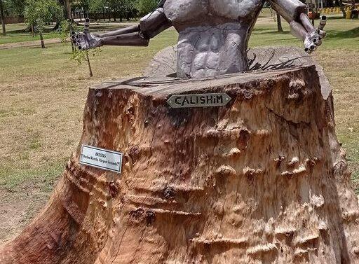 San Javier: Se presentó la obra «Calishim»