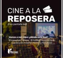 Cine a la Reposera en «Vacaciones en mi Ciudad»