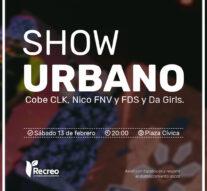«Show Urbano»: diferentes estilos musicales en Recreo