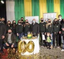El «Encuentro Cultural» se vistió de gala para recibir los 100 años del Club Huracán