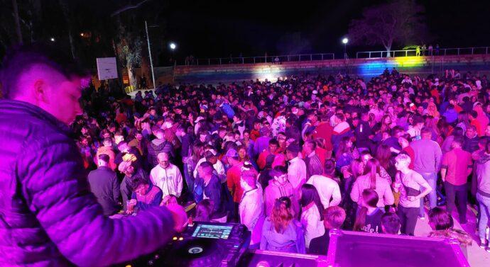 Exitoso festejo por la Primavera en San Javier
