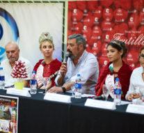 Presentaron en conferencia el programa de la Fiesta Nacional de la Frutilla