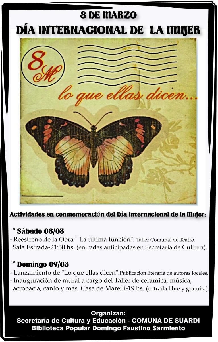 Suardi conmemora el Día Internacional de la Mujer