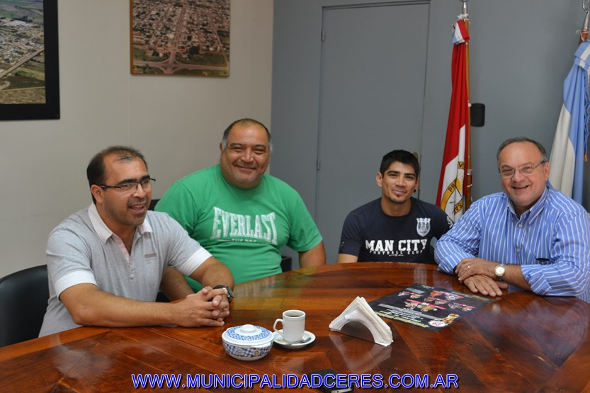 APOYO DEL MUNICIPIO AL KING BOXING