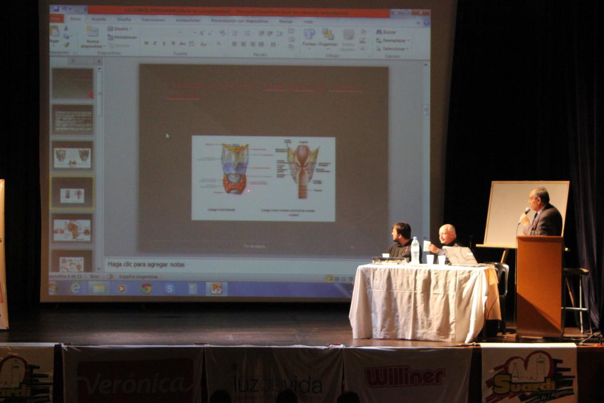 Se realizó en Suardi una conferencia por el Día Mundial de la Voz