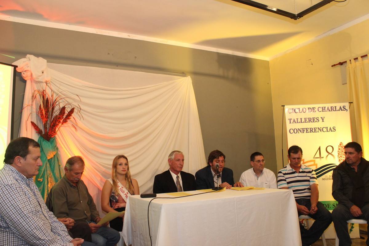 Se presentó oficialmente la 48º Fiesta Provincial del Sorgo y las Industrias Lácteas