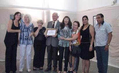 Ceres: Entrega de certificados en la 65º Muestra Amigos del Arte