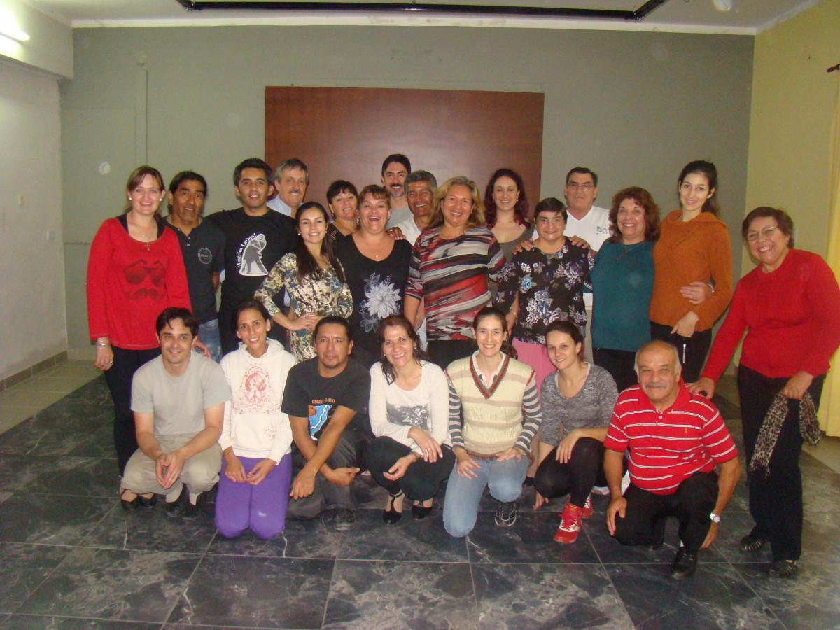 Suardi: Se desarrolló con éxito el seminario de tango