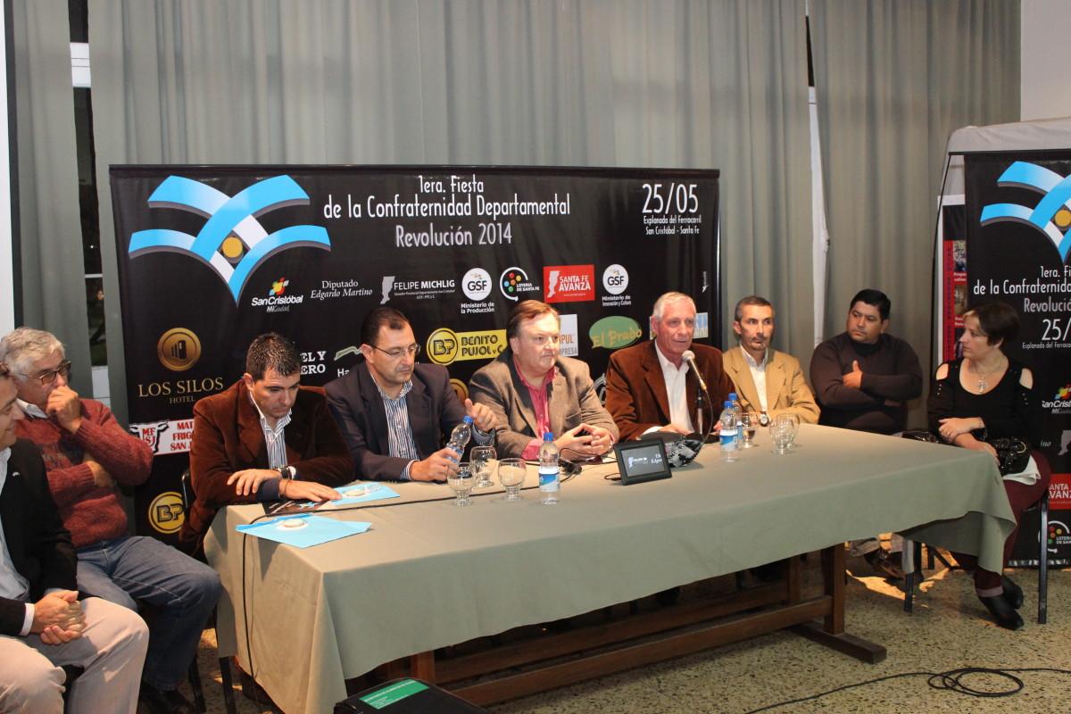 Se presentó oficialmente la 1° Fiesta de la Confraternidad Departamental