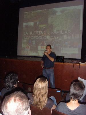 Se desarrolló en Suardi una charla sobre huerta agroecológica