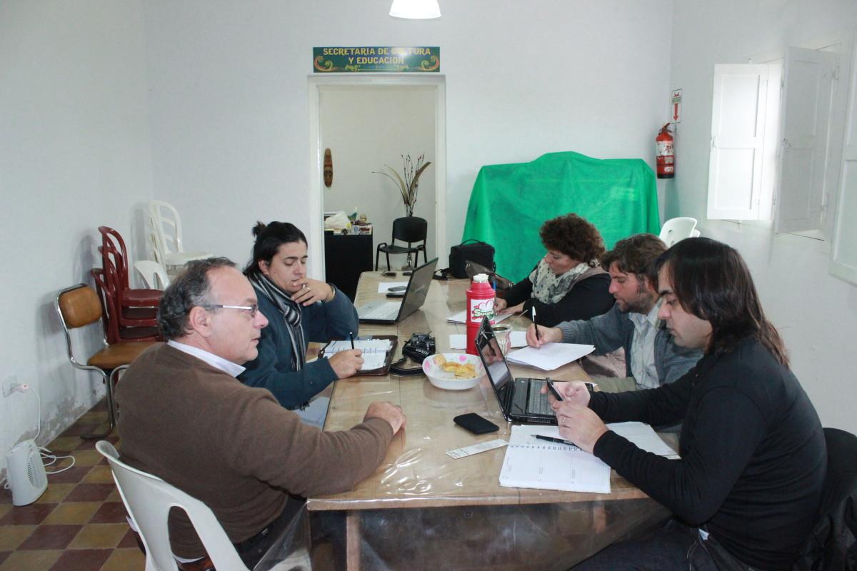 La Usina Cultural V se reunió en Suardi