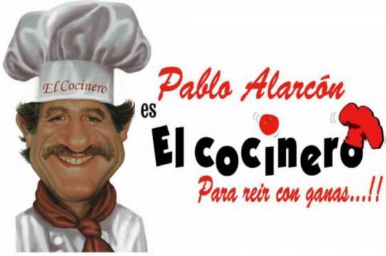 """El actor Pablo Alarcón llega a Suardi con la obra """"El Cocinero"""""""