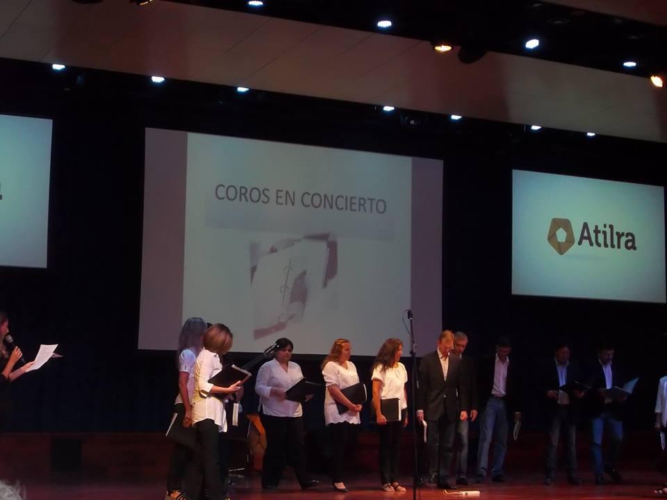 EL CORO POLIFÓNICO COMUNAL DE SAN GUILLERMO PARTICIPÓ DE «COROS EN CONCIERTO» EN SUNCHALES