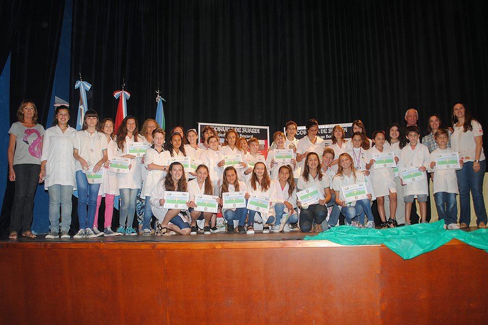 Entrega de reconocimientos a alumnos y docentes destacados de Suardi