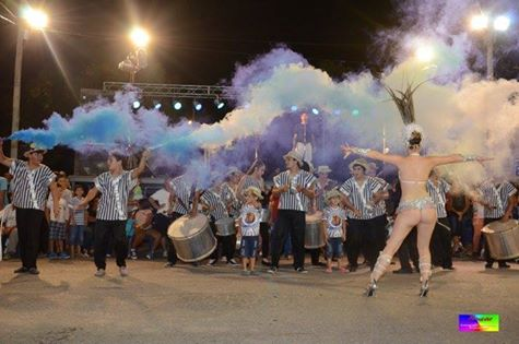 """Multitudinaria """"Noche de Carnavales y Música"""" en San Guillermo"""