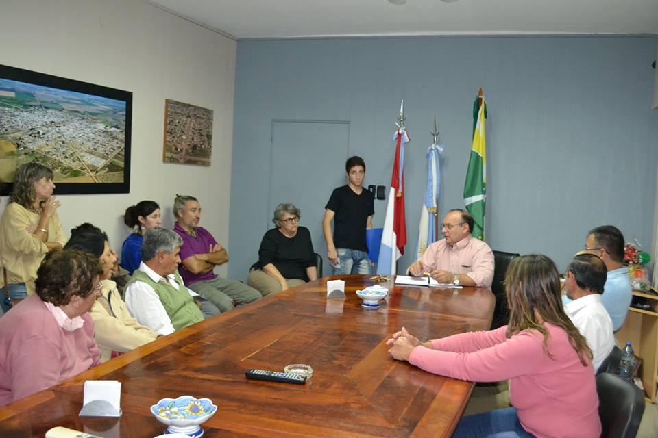 Ceres: El Secretario de Gobierno y Cultura se reunió con Artesanos