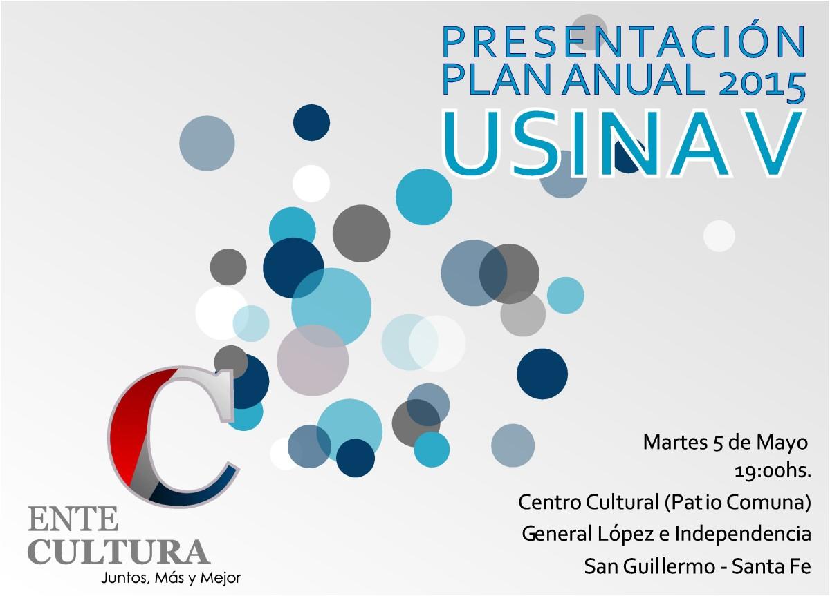 El Ente Cultural presenta su «Plan Anual 2015» en San Guillermo-Usina V