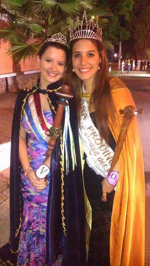 Pamela Cabrera asistió a la «46° Fiesta Provincial de la Vendimia»